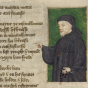 Chaucer accompanied by Latin text from the Middle Ages